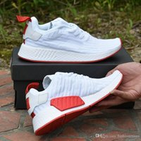 Wholesale High Tops For Men Cheap - 2017 NMD R2 PK Primeknit BA7253 BA7252 High Quality Discount Cheap Boost for Men Women Top Quality Sneakers Running Shoes Size 36-45
