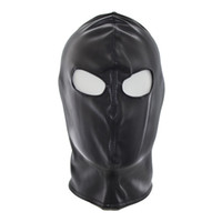 Wholesale Leather Gimp Masks - Top Grade Party Masquerade Masks Leather Gimp Dog Puppy Hood Full Mask Mouth Gag Costume Party Mask Zipped Muzzel Sexy Toy For Adults