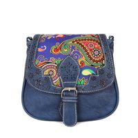 Wholesale European Phone - Wholesale-Retro Women Handbag National Shoulder Bag European & American Style Messenger Bag Fashion Lady Crossbody Bag Mobile Phone Purse
