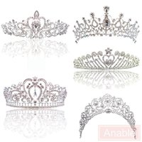 Wholesale Style Hair For Girl - Wedding Crowns Big Princess Classic Bride Headpieces Tiaras Cute Girls Tiaras Crowns for Wedding and Gift New Style