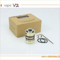 Wholesale Electronic Cigarette Clearmizer - Wholesale- Electronic Cigarette El BAAL tank RTA atomizer vaporizer 22mm diameter VS orchid v4 taifun gt-s E Cig Clearmizer