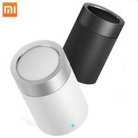 Wholesale usb cannon - Original Xiaomi Mi Speaker Cannon 2 Mini Smart Bluetooth 4.1 Portable Wireless Subwoofer Wifi Loudspeaker for i phone Android MP3
