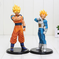 Anime Dragon Ball Z figure Goku Vegeta Figure d'action Juguetes Dragonball Résolution des soldats Figures Collection 18-20cm