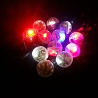 Wholesale Wholesale Blue Wedding Lighting - Round Ball Lamps Led Shake Balloon Lights For Paper Lantern Red   Blue Wedding Christmas Halloween Party Decoration Boda