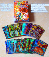 Wholesale flash trading - 2017 Poke Card series New 100   English flash cards a lot hildren adult Poke English card toy game trade card games A1720