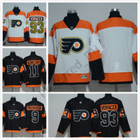 Philadelphia Flyers # 28 Giroux Stadium Series Hockey Jerseys Hommes Hockey Vive 2017 Philadelphie # 17 Simmonds # 53 Gostisbeh # 93 Voracek
