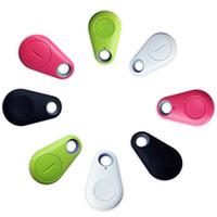 buscador de llaves al por mayor-Mini GPS Tracker Bluetooth Key Finder Alarma 8g Buscador de artículos bidireccional para niños, mascotas, ancianos, carteras, automóviles, paquete de venta minorista de teléfonos