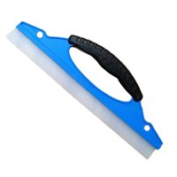 Wholesale Silicone Wipers - Wholesale-Newest Soft Silicone Car Window Wash Cleaner Wiper Squeegee Blade Shower Kit