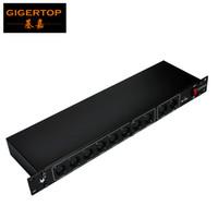 Wholesale lighting controls design - TP-D06 DMX 8 Channel Output DMX Splitter,90V-240V Lighting Control,15W Dmx Splitter Control,Specially Design Stage Lights