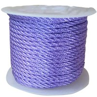 Wholesale Twisted Cord Necklaces - 3mm Lavender Twisted Twist Twine Thread Nylon Cord+Jewelry Accessories Macrame Rope Shamballa Bracelet Necklace String 30m roll