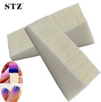 Wholesale Bag For Nail Polish - Wholesale- 8pcs bags Multiple-Use, DIY Sponge Nail Art Manicure Tools for Polish Templates, Gradient Creative Tips, Hollow Sticker NA144