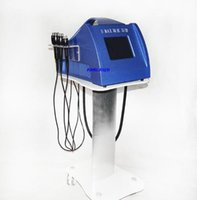 Wholesale medical vacuum - New korean model 5 heads 40KHZ caviatation 1MHZ RF Vacuum bipolar RF for eye area lifting weight loss body slimming spa salon home machine