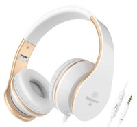 Wholesale Ear Headphones Folding - Sound Intone I65 Headphones with Microphone and Volume Control Stereo Folding Headset, Lightweight, On-ear