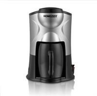 koreanischer kaffee großhandel-Haushalt HOMEZEST Kaffeekanne Automatische Dripolator Mini Tropf Typ Kaffeemaschine American Single Glass Rotation Durable Sicher Einfach Cleann 48xg H