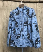 palace apparel - 2017 Suprem x Thrasher boyfriend jac17SS joint comic coat jacket hip hop clothing Apparel mascot palace hoodie