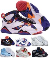 Wholesale Basketball Sneakers Authentic - Hot2016 Retro 7 Basketball Shoes Women Men Sneakers Retros Shoes 7s VII Authentic Replica Zapatos Mujer Free Delivery
