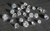 Wholesale Test Positive F G Color mm White Loose Moissanite Diamond Stone Synthetic Moissanite Gemstone Beads