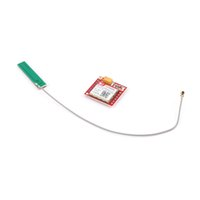 Wholesale Gsm Modules Wholesale - Wholesale- New SIM800L GPRS GSM Module Card Board Quad-band Onboard + Antenna