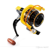 Wholesale bait free reels - New Fishing Reel BB Spinning Reel Carpa Molinete De Pesca Roda Spinning Wheel