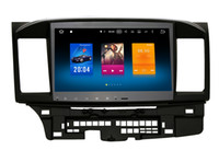 Wholesale 4k dvd online - 10 quot Octa Core Android System Car DVD GPS For Mitsubishi Lancer Radio RDS G RAM G ROM WIFI G Netwrok K Video OBD AUX
