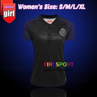 25ea2e24588 WOMEN 17 18 LIGA MX Mexico Club CHIVAS DE Guadalajara Soccer Jerseys 2017  2018 Tigres Camiseta de futbo Girl football shirts Size XL ...