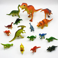 Wholesale Multistyle Dinosaur models styles dinosaur figures toys kids gifts party sales promotion gifts
