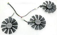 asus graphics fan achat en gros de-Nouveau remplacement original Everflow 88MM T129215SU PLD09210S12HH pour ASUS strix Raptor GTX980Ti R9 390X R9 390 RX 480 carte graphique Fan