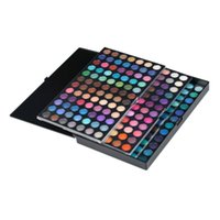 Wholesale sell eye shadow palettes resale online - Hot Selling Color Eye Shadow Makeup Cosmetic Shimmer Matte Eyeshadow Palette Set