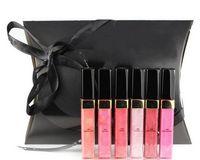 Wholesale Free Color Samples - 1pcs lot New Makeup Brand Lipgloss 6 Different Color Lipgloss Set Make Up Sample Size Lip Gloss*Free Shipping