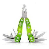Wholesale Pocket Fishing Kit - Professional Multifunction Outdoor Camping Knife Kit Folding Tool Army Survival Pocket Combination Pliers Ferramentas Herramientas De Mano