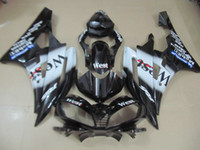 Wholesale Sticker R6 - Injection molding hot sale fairing kit for Yamaha YZF R6 2006 2007 west sticker black fairings set YZFR6 06 07 OT11