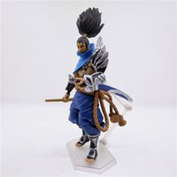 LilyToyFirm Anime League of Legends LOL Yasuo Die Unvergebene PVC Action Figure Statue Modell Spielzeug 16 cm Neu in box Dekoration Modell