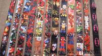Wholesale New Mobil - mixing Free Shipping New Avengers Batman Deadpool Lanyard Man Women ID Holder Mobil Phone Neck Strap Keychain Wholesale