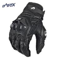 handschuhe für fahrrad großhandel-Großhandels- Heißer Verkauf Coole Motorradhandschuhe moto racing handschuhe ritter leder fahrt fahrrad fahren fahrrad radfahren motorrad