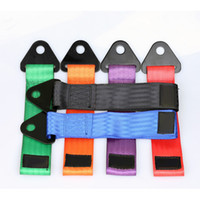 Wholesale tow bars - tow strap Universal High quality race car tow strap   ropes   hook   towing bars without screws and nuts