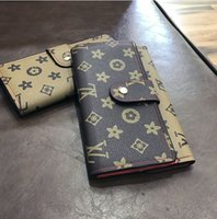 Wholesale Printed Hand Bags - Europe style fashion women wallet Printed classic style long wallet women hand bag purse wallet handbag famous design