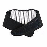 Wholesale Neck Support Massager - 100pcs Health Care Self Heating Tourmaline Magnetic Neck Heat Therapy Support Belt Wrap Brace Massager Slim Equipment