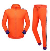 Wholesale Leisure Jacket Woman - new high-end women and men's brand Sweatshirts Sports leisure Jacket suit fashion gym outfit Unisex Casual Coat with pants