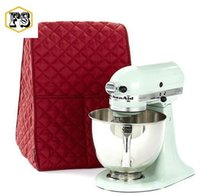 Wholesale Free Stand Mixer - kitchenaid Accessories KitchenAid Stand Mixer Cover Dustproof bags Home Storage Bags 4 colors wholesale free shipping