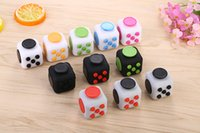 Wholesale Cheap Toys Price - Cheap Price Decompression Toy Fidget Cube The World's First American Decompression Anxiety Toys For Big Kids And Adults DHL Freee Shipping