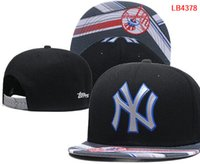Wholesale Yankees Girl - wholesale price Yankees Hats cap Adjustable Snapback Hat Baseball Caps Adult Acceap Mix Order