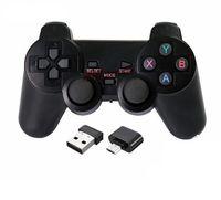 controladores de juegos bluetooth android al por mayor-Controlador inalámbrico de juegos Bluetooth para PlayStation 3 Controlador de juegos PS3 Gamepad Joystick para juegos de video de Android Colores con caja de venta