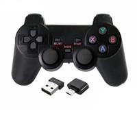 ingrosso regolatore del bluetooth per android-Controller di gioco Bluetooth senza fili per PlayStation 3 Controller di gioco PS3 Joystick per gamepad per videogiochi Android con scatola al minuto