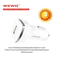 Wholesale Iphone5 Uk Charger - WEWO Universal Car Charger 2.4A DC12V-DC24V Car Plug Adapter Dual USB Car Charger For Smartphone Apple iphone5 6 Samsung Blackberry