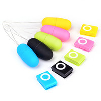 Wholesale Sex Stores - Wholesale- Women Vibrating Jump Egg Wireless MP3 Remote Control Vibrator Sex Toys Products Store 49