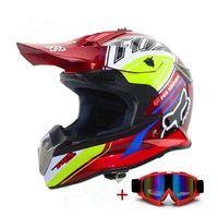 Wholesale Xl Motocross Helmet - Wholesale- Motorcycle Helmet Motocross Helmet Off Road Dirt Bike Casco Motocicleta Capacete Racing Moto Helmet S M L XL