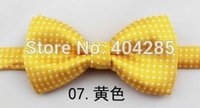 Wholesale neck ties baby sizes resale online - dot ties for baby boy bow tie kid butterfly bowtie party gravata cravate necktie size S children