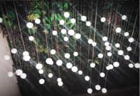 Wholesale Glass Ball Pendant Lamp - Custom G4 LED Crystal Glass Ball Pendant Lamps Meteor Rain Ceiling Lights Meteoric Shower Stair Droplight Chandeliers Lighting AC110V-240V