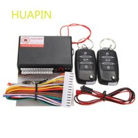Wholesale Vehicle Remote Start - Universal Remote Central Locking Kit Vehicle Transmitter Controllers Lock Keyless Auto Entry Button Start Stop Car Alarm System