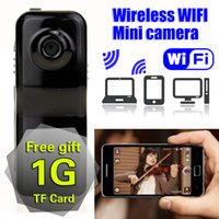 Großhandel-Wireless WiFi Mini-Kamera HD IP Motion Camcorder / Spion Espia Micro Security Action Video tragbare versteckte Cam